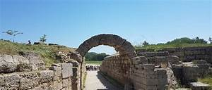 ancient olympia in the peloponnese greece