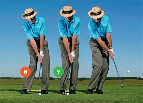 david leadbetter narrow  stance  crisp chips