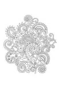 fingernã gel design vorlagen coloriages mandala fleurs adultes