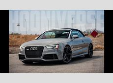 Audi RS5 Cabriolet Feel the wind in your hair and your