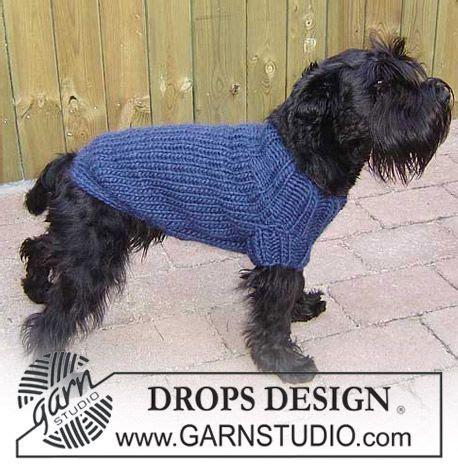 Pulli für den Hund Kostenlose Anleitungen von DROPS Design