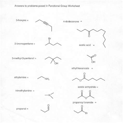 15 best images of naming functional groups practice 15 best images of naming functional groups practice