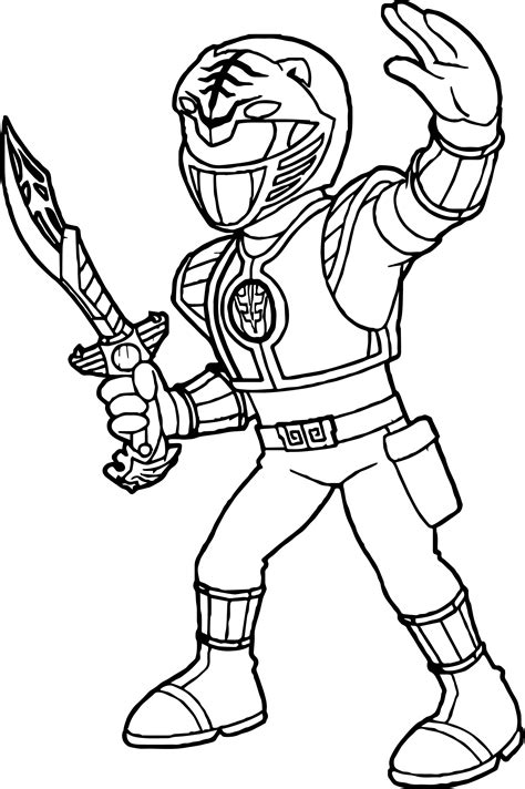 power ranger coloring pages power rangers white ranger coloring page wecoloringpage