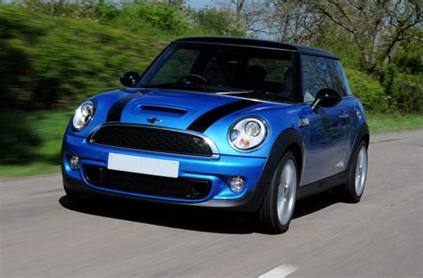 Mini Cooper Blue Edition Modification by Mini Cooper Blue With Black Stripes Stunning Colour