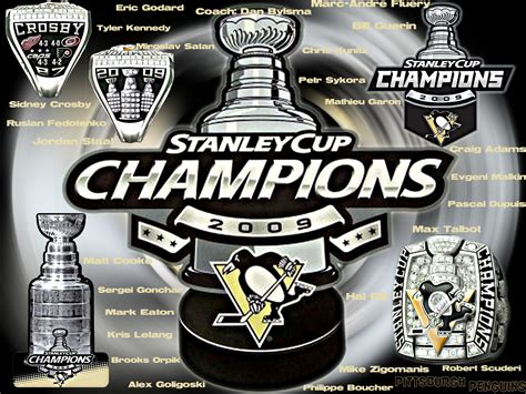 Pittsburgh Penguins Logo Wallpaper Pittsburgh Penguins Images 2009 Stanley Cup Chions Hd Wallpaper And Background Photos 23121363