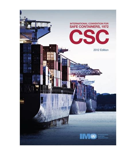 imo  reader kbe international convention  safe containers csc  edition