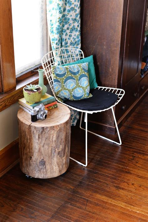 how to make a tree stump end table bring raw beauty into your home with tree trunk tables