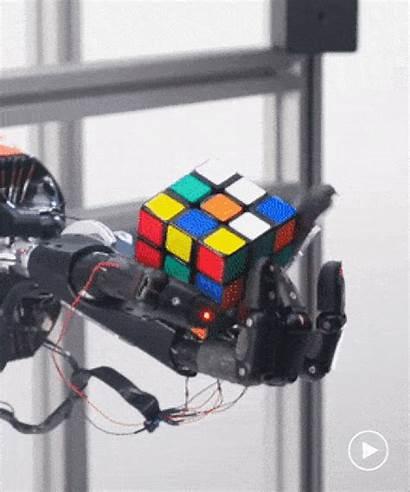 Cube Robots Robot Ai Uses Rubik Solve