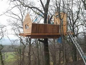 Cabane Dans Les Arbres Construction : construire une cabane en bois dans les arbres de son jardin viving ~ Mglfilm.com Idées de Décoration