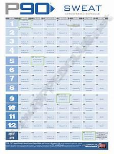 Power 90 Workout Calendar - Calendar Template 2016 Power 90