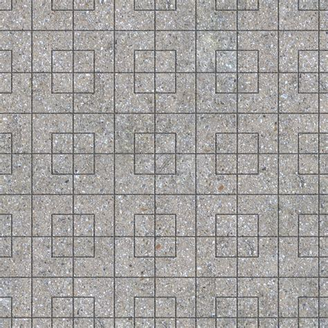 Paving outdoor concrete regular block texture seamless 05760