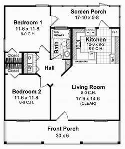Small Home Floor Plans Under 600 Sq Ft – House Plan 2017