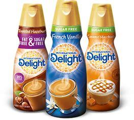 Choosing the best coffee creamer isn't always easy. International Delight | International delights, Free coffee, Sugar free coffee creamer