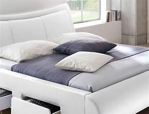Günstige Betten 180x200 Komplett : polsterbett lando bett 180x200 cm wei mit lattenrost und matratze m wohnbereiche schlafzimmer ~ Bigdaddyawards.com Haus und Dekorationen