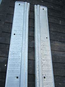 Sell Ford Falcon Convertible Oem Sill Scuff Plates 1963 1964 1965 Comet Sprint Futura Motorcycle