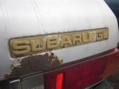 junkyard find  honda accord  wait subaru gl