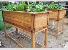 Elevated Garden Bed Plans Backyard Garden House Design