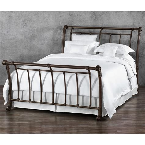 Brookshire Iron Bed By Wesley Allen  Humble Abode