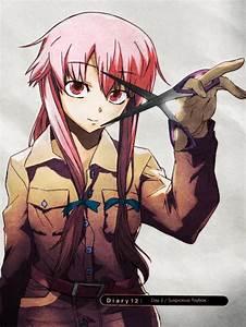 Lista: Enfrentamiento anime: Yuno Gasai vs Inori Yuzuriha