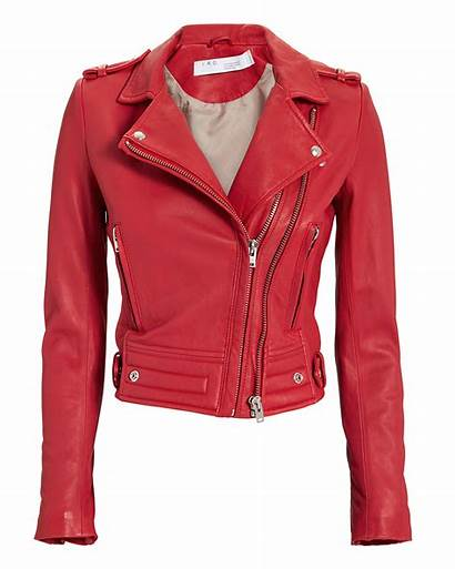 Jacket Leather Iro Intermix Luiga Outerwear Intermixonline