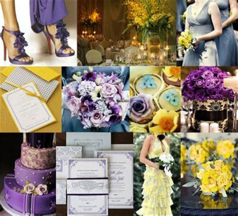wedding theme purple and yellow colors trends colors combos combinations colors wedding ideas design ideas country weddings