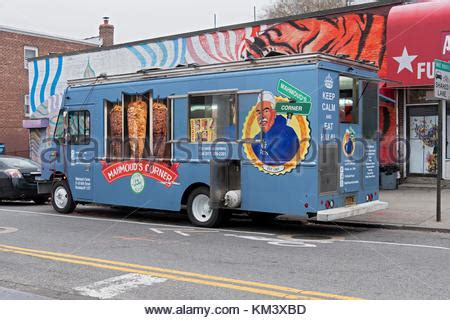 queens table food truck american food food truck usa stock photo 78760610 alamy
