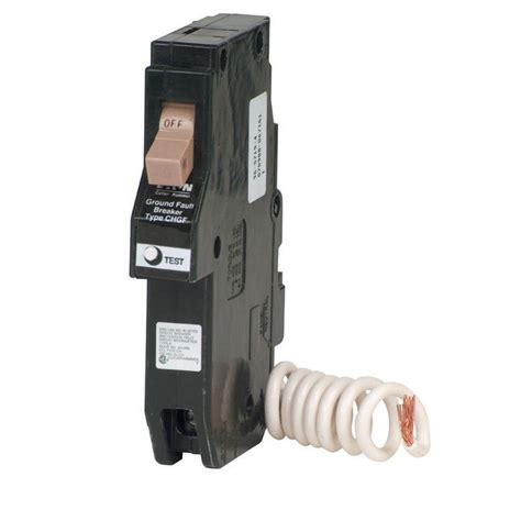 gfci circuit breaker square d qo 20 amp single pole circuit breaker qo120cp the home depot