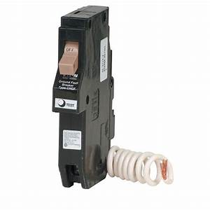 Eaton 20 4 In  Single Pole Type Ch Gfci Circuit