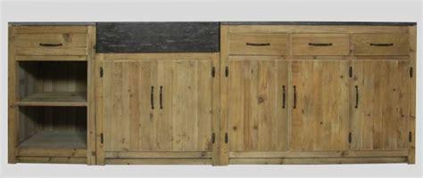 meuble de cuisine ind endant cuisine où trouver des meubles indépendants en bois brut