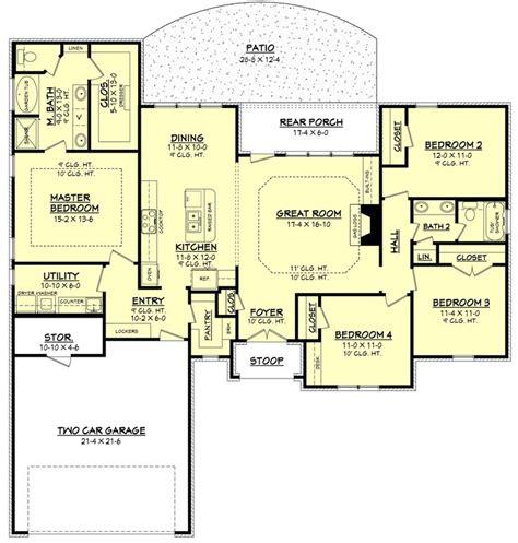 ideas  ranch floor plans  pinterest house