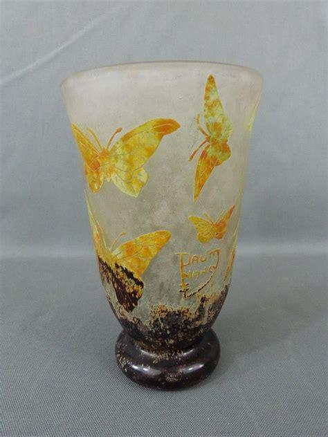 vase pate de verre daum nancy vase tulipe en p 226 te de verre 224 d 233 cor multicou