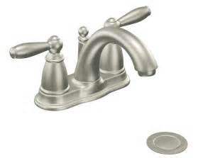 lead free kitchen faucets moen 6610bn brantford two handle low arc bathroom faucet with drain assembly brushed nickel
