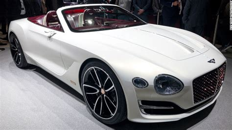 Who Makes Electric Cars electric bentley has style