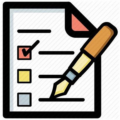 Icon Plan Order Task Icons Checklist Project