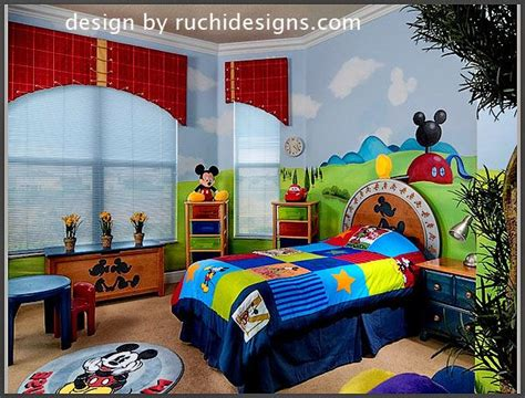 Mickey Mouse Bedroom Liam's Dream Bedroom!