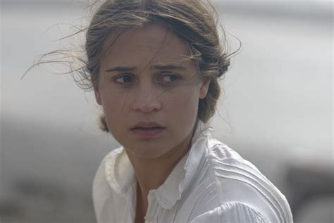light between oceans vikander on the light between oceans and