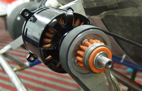 Electric Kart Motor by Rc Motor On An Electic Go Kart Electric Powered