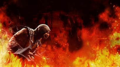 Scorpion Mortal Kombat 1080 1920 Wallpapers Deviantart