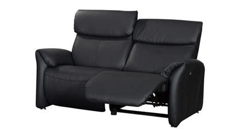 canapé deux places cuir canapé relax 2 places tout cuir ohio mobilier moss