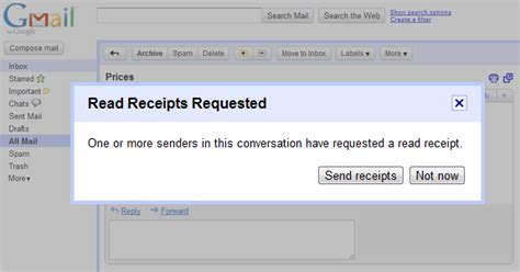 email tracking get read receipts in gmail with