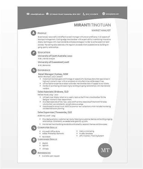 modern microsoft word resume template miranti tinotuan