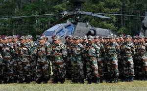 Indian Army Soldiers Training
