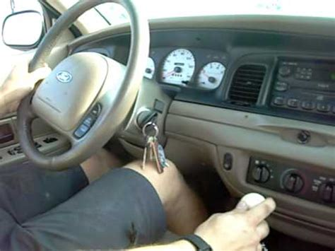 car service manuals pdf 2002 ford crown victoria electronic throttle control ford crown victoria 5 speed manual drag youtube