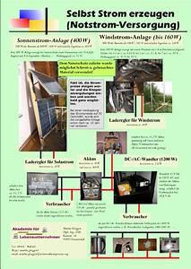 Strom Selbst Erzeugen : lohnt es sich selbst strom zu erzeugen initiative ~ Lizthompson.info Haus und Dekorationen