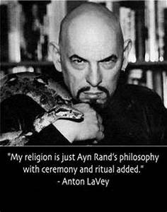 My religion is ... Ayn Rand Philosophy Quotes
