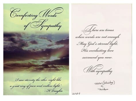words of comfort comforting quotes of sympathy quotesgram