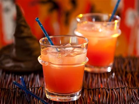 fruity witches brew halloween cocktail from hgtv hgtv