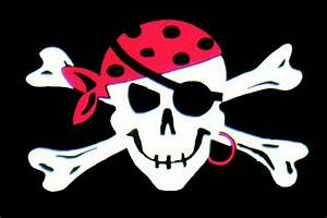 5' x 3' Pirate & Skull Themed Flags With 2 Metal Eyelets ...