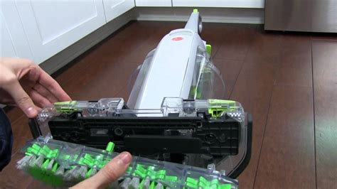 hoover floormate deluxe  cleaning properly youtube