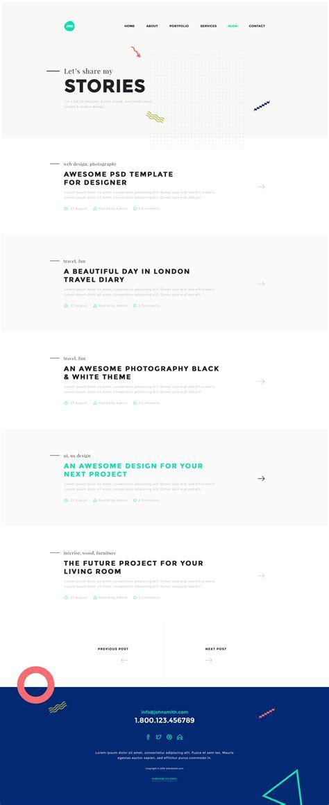 me multipurpose resume one page portfolio